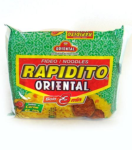 FIDEO RAPIDITO 100GR RES FDA X 24U ORIENTAL