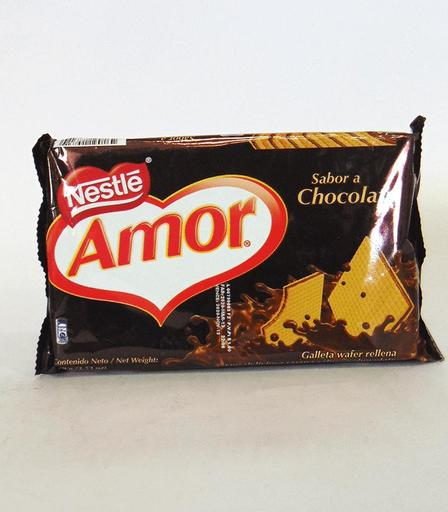 [000000163049] GALLETA AMOR 100GR CHOCOLATE X 60U