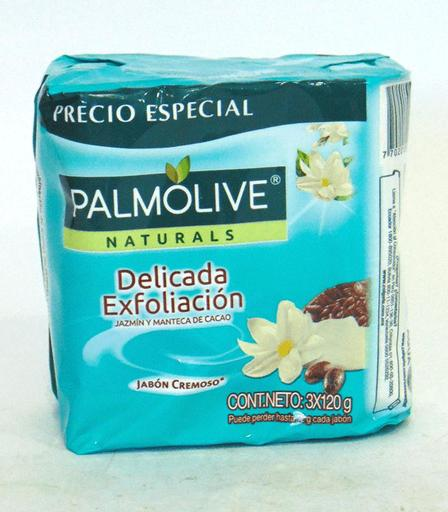 JABON TOC PALMOLIVE 360GR JAZMIN Y CACAO TRIPACK X 24U