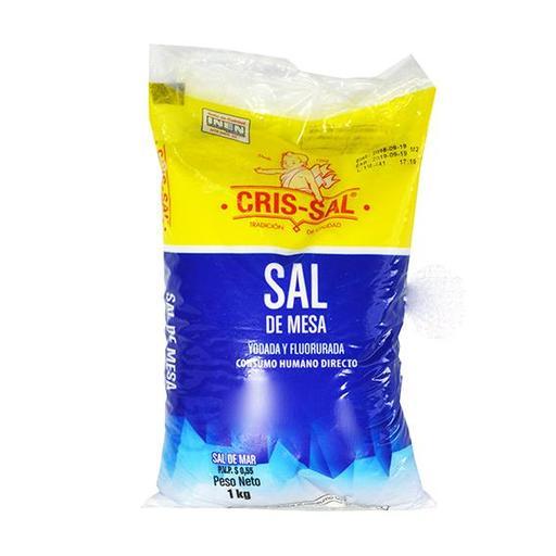 [000000003651] SAL CRISAL 1KG X 50