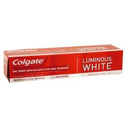 [000000019780] COLGATE LUMINOUS WHITE 125ML X48
