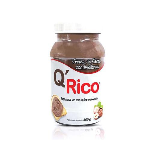 CREMA D CACAO Q RICO 500GRS X 6
