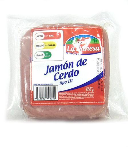 JAMON REB DANESA 500GRS