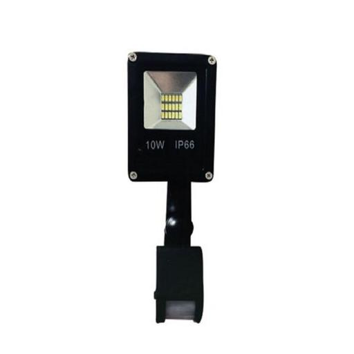 REFLECTOR RCA FLAT CON SENSOR 10W 3500K