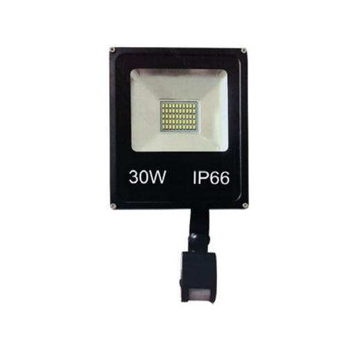 REFLECTOR RCA FLAT CON SENSOR 6500K 30W 110V