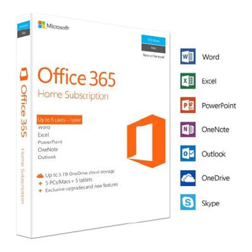 LICENCIA OFFICE 365 HOME PREMIUM 5 PC o MAC