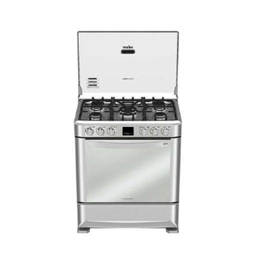 [400490] COCINA MABE EM7670FX0 5 QUEMADORES GAS INOX