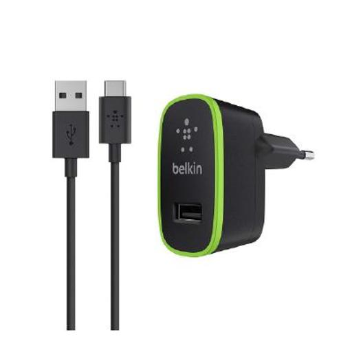 [2540410] CARGADOR DE PARED BELKIN + CABLE USB C TO USB A