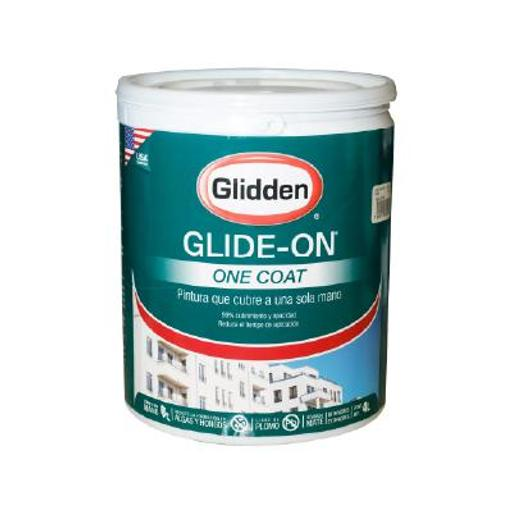 GLIDE-ON ONE COAT BLANCO 4 LTS