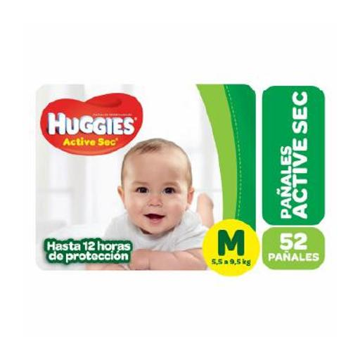 [30208060] PAÑAL HUGGIES ACT MEDIANO 52 UND